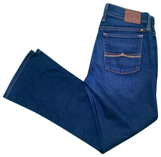 Item - Navy Dark Rinse Charlie Baby Boot Cut Jeans Size 27 (4, S)