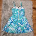 Lilly Pulitzer Blue & White Willow In Resort Short Casual Dress Size 0 (XS) Lilly Pulitzer Blue & White Willow In Resort Short Casual Dress Size 0 (XS) Image 8