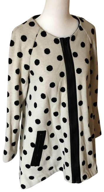 Item - Cream XS Polka Dot Top Sz. - New with Tags Mid-length Short Casual Dress Size 0 (XS)