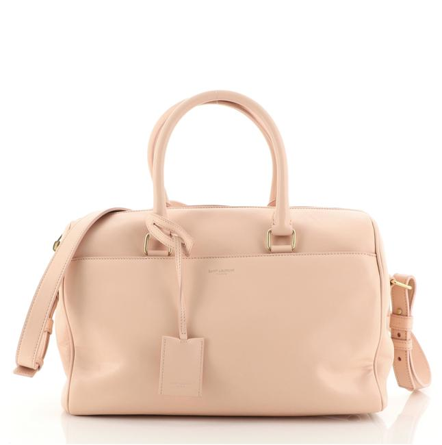 Item - Duffle Bag Classic Pink Leather Satchel