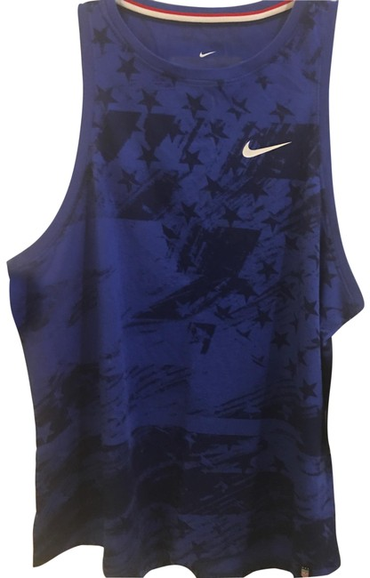 Item - Blue Blk Buy Get Zumba For Free. Activewear Top Size 12 (L)