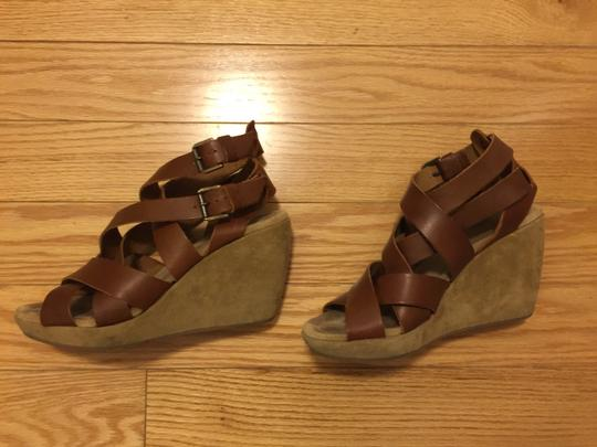 Other Wedge Brown Sandals