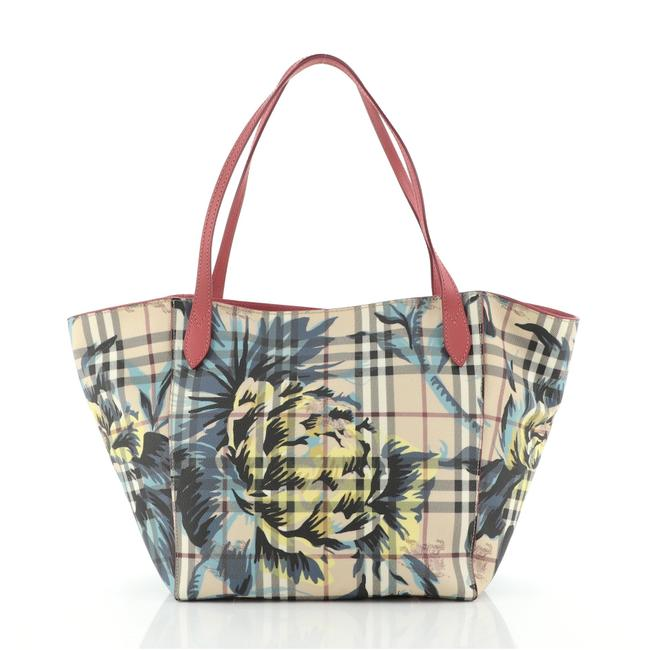 Item - Canter Printed Haymarket Coated Small Neutral Print Canvas Tote