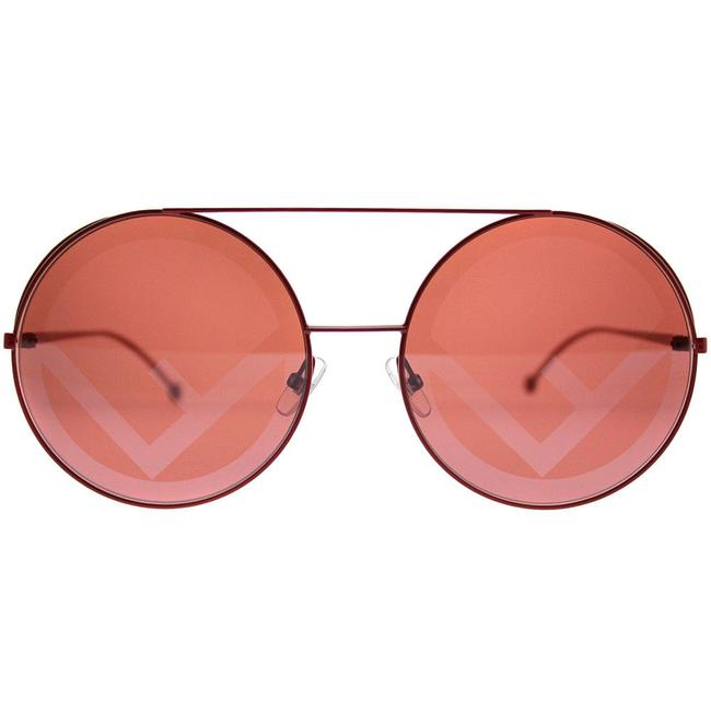 Item - Red Ff0285s-0p687y Run Away Round Sunglasses