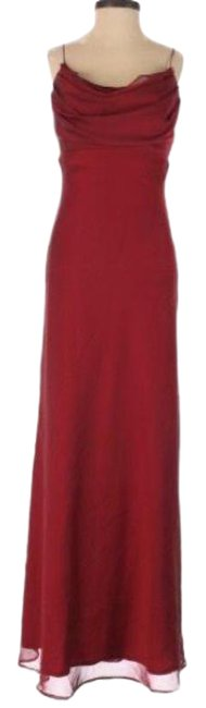 Item - Red Formal Long Cocktail Dress Size 2 (XS)
