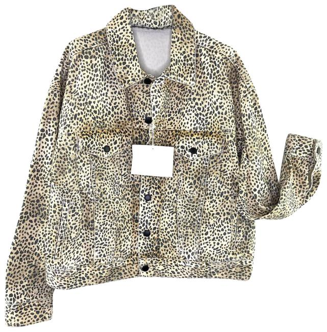 Item - Tan New Game Women's Small Cheetah Print Maternity Outerwear Size 6 (S)