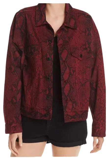 Item - Red New Game Women's Large Diamond Snake Maternity Outerwear Size 14 (L)