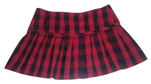 Tracy Evans Plaid Mini Skirt Red, Black