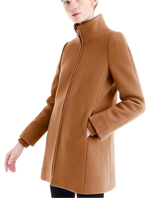Item - Tan Lodge Italian Stadium Coat Size 4 (S)