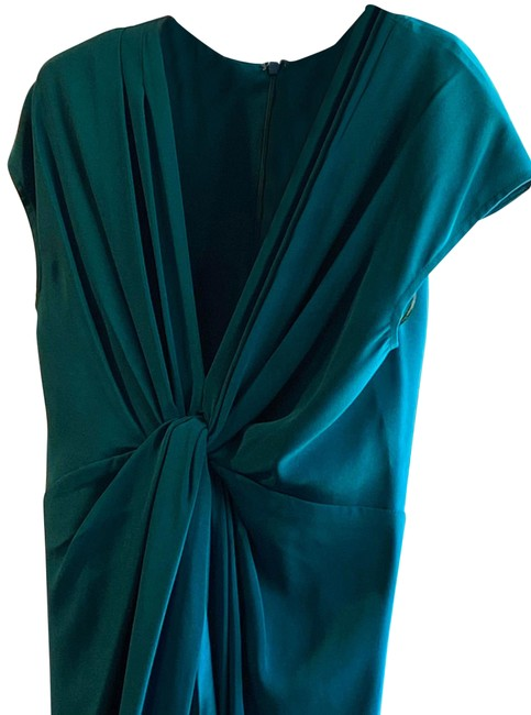 Item - Blue-green Long Night Out Dress Size 6 (S)