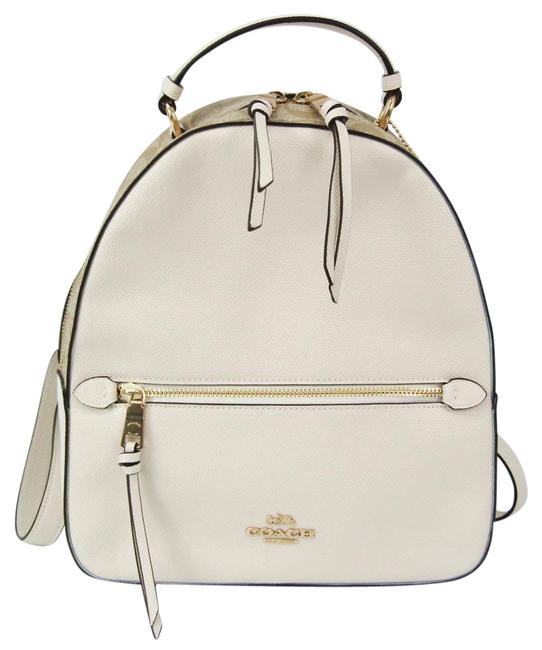Item - Signature 76622 Women's Beige / Off-white Coated Canvas / Leather Backpack