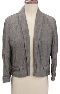 Urban Outfitters Wool Cropped Grey Blazer