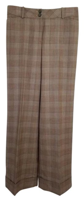 Item - Brown Plaid Pants Size 6 (S, 28)