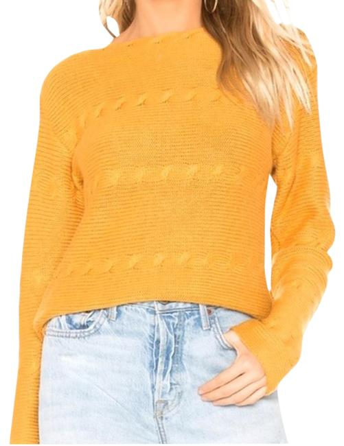 Item - Deep Cable S Yellow & Gold Sweater