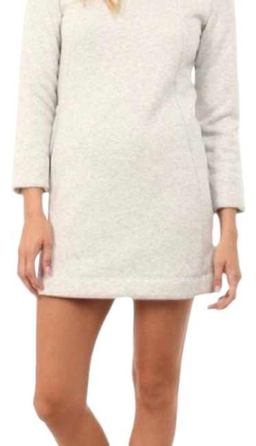 Item - Cream Cozy Lined Sherpa Short Casual Dress Size 0 (XS)