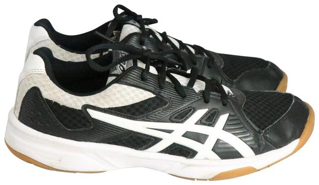 Item - Black & White Upcourt-3 Volleyball Sneakers Size US 9.5 Regular (M, B)