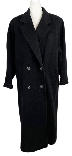 Item - Black Vintage Maxi Coat Size 16 (XL, Plus 0x)