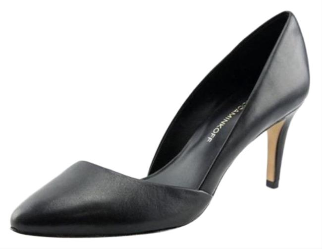 Item - Black Brie D'orsay Leather Heels Pumps Size US 7.5 Regular (M, B)