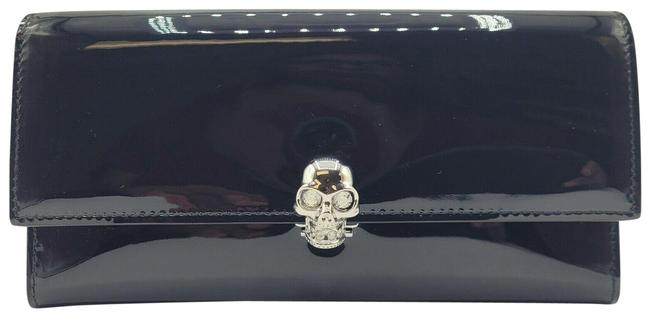 Item - Dark Navy Patent Leather Continental 275330 Dp00i 4910 N Wallet
