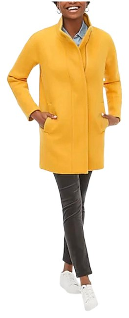 Item - Mustard Yellow City Bronzed Ochre Coat Size 00 (XXS)