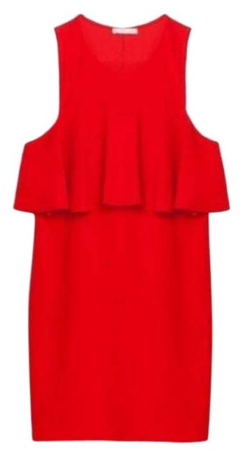Item - Red Shift Sleeveless Mini Frill Short Casual Dress Size 8 (M)