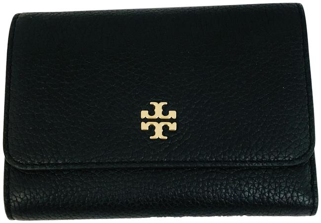 Item - Black Robinson Continental Trifold Wallet