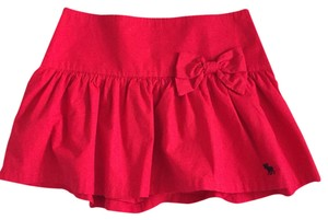 Abercrombie & Fitch Skirt Red