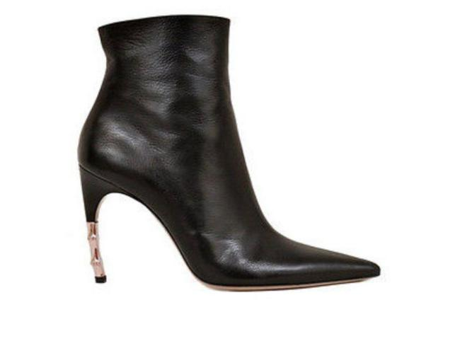 Item - Black Tom Ford For Rare Goatskin Bamboo Heel Boots/Booties Size US 5 Regular (M, B)