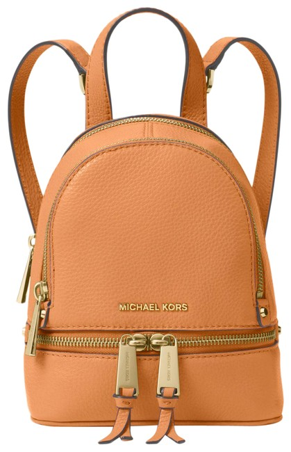 Item - Crossbody Rhea Mini Cider Leather Backpack
