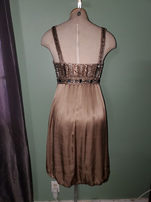 Sue Wong Brown Nocturne Mid-length Night Out Dress Size 6 (S) Sue Wong Brown Nocturne Mid-length Night Out Dress Size 6 (S) Image 2
