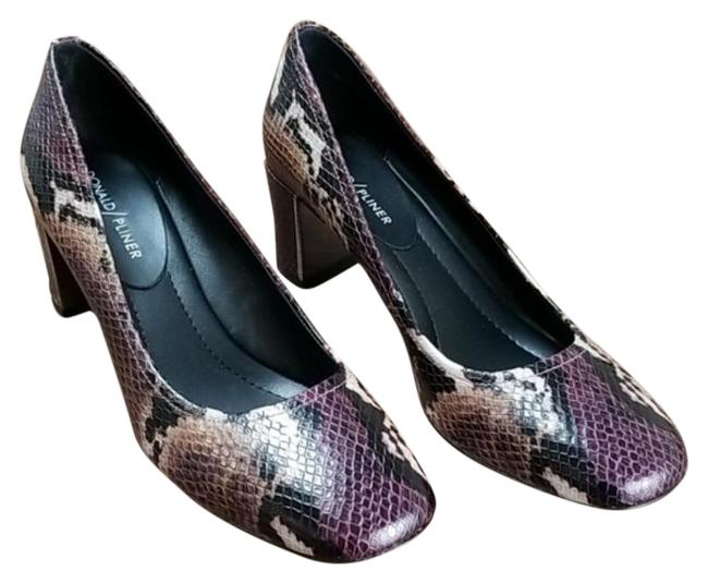 Item - Purple Black Corin Women's Pumps Size US 6 Regular (M, B)