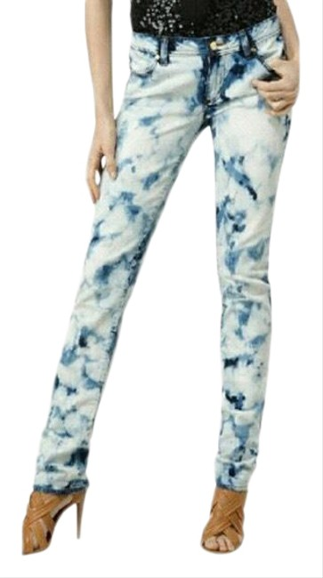 Item - Blue and White Acid 11101204 Skinny Jeans Size 2 (XS, 26)