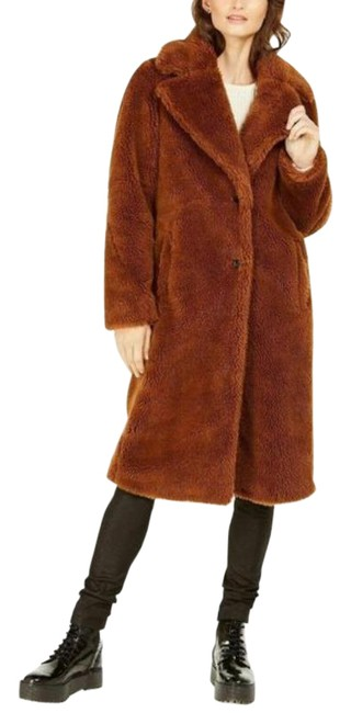 Item - Brown Chocolate Faux Coat Size 4 (S)