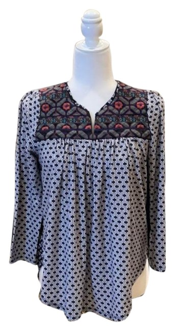 Item - Multicolor W By Stitchfix W/Embroidered Small Blouse Size 4 (S)