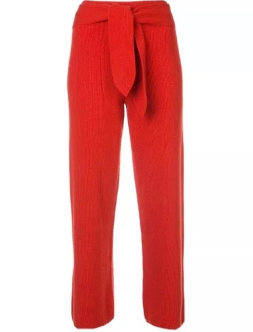 Item - Red Cropped Knitted In Small Pants Size 4 (S, 27)