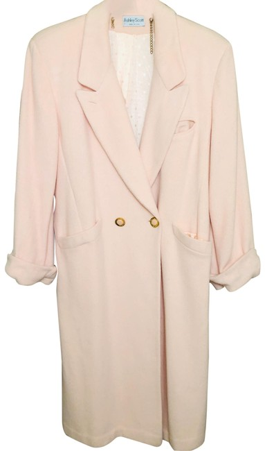 Item - Pink Vintage Double-breasted Coat Size 12 (L)
