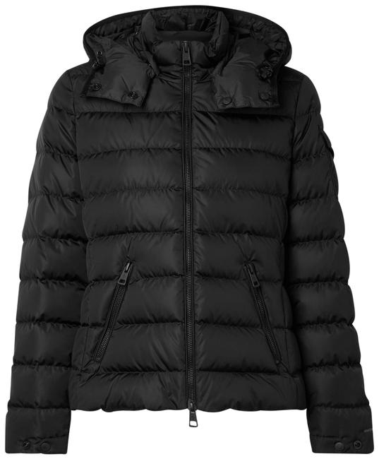 Item - Black Teremba Hooded Quilted Econyl Down Jacket Coat Size 4 (S)