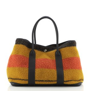 Item - Garden Party Rocabar and Leather 36 Tote