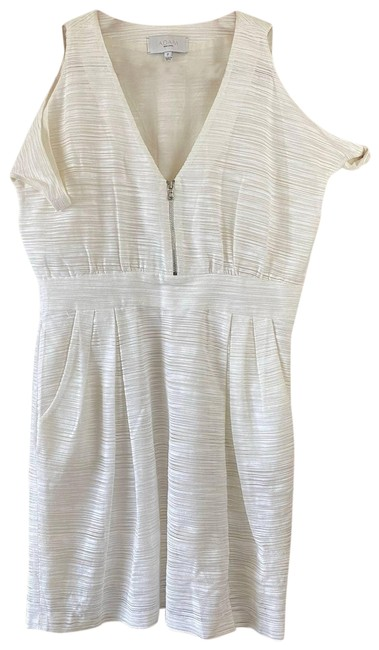Item - White By Cold Shoulder Short Casual Dress Size 2 (XS)