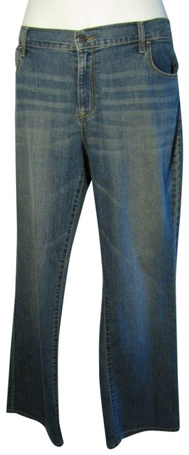 Item - Blue The Flirt Denim Stretch Super Soft Straight Leg Jeans Size 16 (XL, Plus 0x)