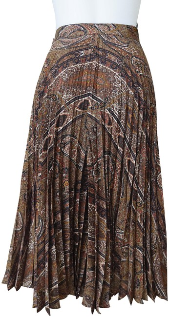 Item - Multi with Tag Culottes Pleats In Printed Etamine Skirt Size 8 (M, 29, 30)