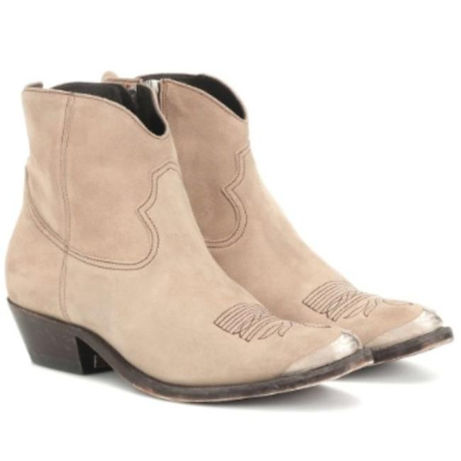 Item - Tan Suede Young Boots/Booties Size EU 36 (Approx. US 6) Regular (M, B)