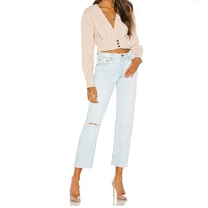 Item - Almost Always Distressed Helena High Rise Straight Leg Jeans