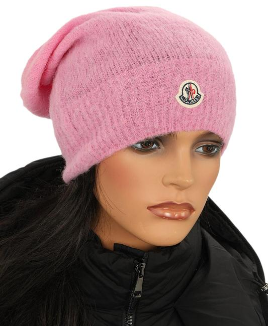 Item - Pink New Light Purple Mohair Wool Logo Beanie One Size Rfid Cod Hat
