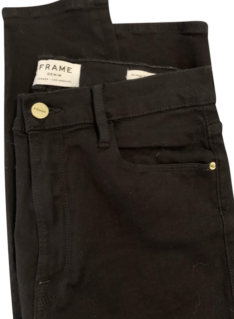 Item - Black Ali High Rise Cigarette Skinny Jeans Size 30 (6, M)