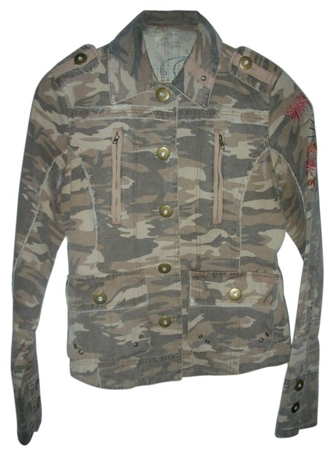 Preload https://img-static.tradesy.com/item/28693/passport-embroidered-miltary-jacket-size-4-s-0-0-650-650.jpg