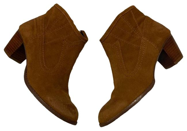 Item - Brown Suede Ankle Boots/Booties Size US 6.5 Regular (M, B)