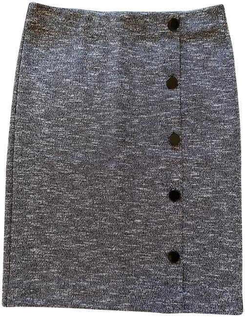 Item - Black White And Pencil Skirt Size 0 (XS, 25)