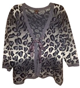 Dana Buchman Ombre Animal Print Sweater