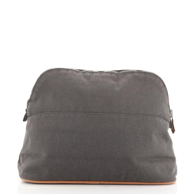 Item - Bolide Travel Pouch 31 Gray Canvas Clutch